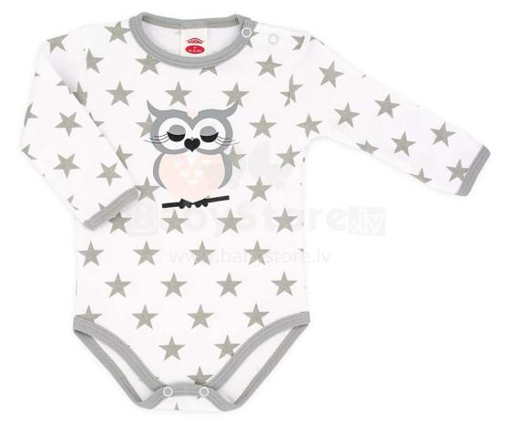 Makoma Art.03134DR Body Baby Owl Zīdaiņu bodiji ar garām piedurknēm (56-86сm)