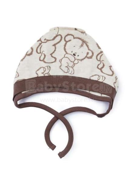 Cango Art.KBSS-155 Bear  Mazuļu cepure 100% kokvilna