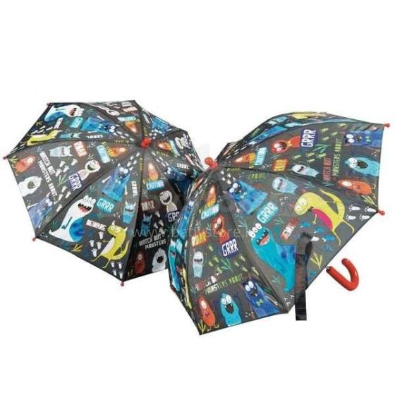 Umbrella Colour Monster Art.36P2630 Bērnu lietussargs