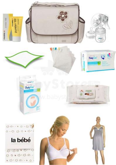 Māmiņu soma L izmērs Art.2899 Viss kas nepieciešams dzemdību namā