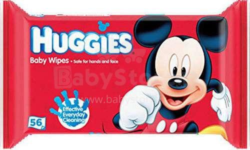 Huggies Disney Art.041550022 mitrās salvetes  56 gab.