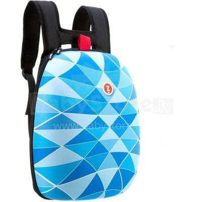 Zipit Shell Blue Art.ZSHL-BT Cieta mugursoma ar nodalījumiem iekšā
