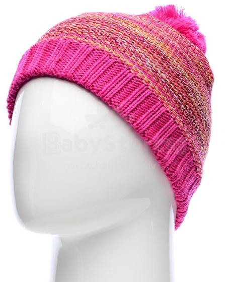 Lassie Pink Glow Art. 728678-4450 Cepure (S-M)