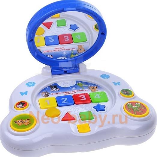 """Play Smart Art.40003 Muzikāla attīstošā rotaļlieta """"Brīnumains spogulis""""(krievu val.) 294127"""