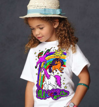 Splat Planet T-Shirt Unicorns Art.SP70211 Bērnu t-krekls ar flomasteriem