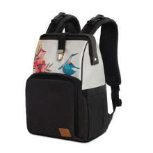 KinderKraft'20 Molly Art.KKAMOLLBIR000 Birds Liela, ērta un stilīga soma māmiņām