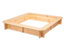 Folkland Art.77200 Smilšu kaste ar vāku no dabīgas priedes