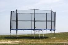 TLC Trampoline Art.64507 Saliekams batūts ar aizsārgtīklu, 3,74 m
