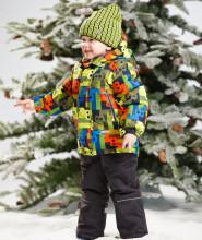 LENNE '15 Elton 14354/042 Bērnu ziemas termo bikses ar paaugstinātu vidukli (104 cm)