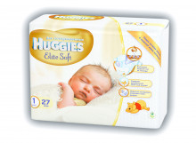 Huggies Elite Soft Newborn Art.041564876 sauskelnės naujagimiams 3-5kg 26vnt